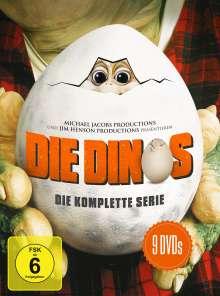 Die Dinos (Komplette Serie), 9 DVDs