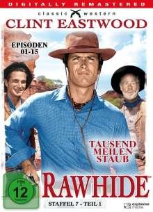 Rawhide - Tausend Meilen Staub Season 7 Box 1, 4 DVDs