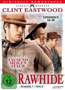 Rawhide - Tausend Meilen Staub Season 7 Box 2, 4 DVDs