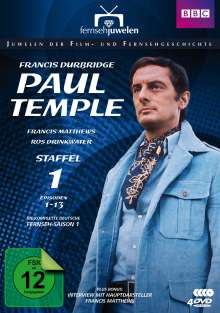 Francis Durbridge: Paul Temple Staffel 1, 3 DVDs