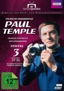 Francis Durbridge: Paul Temple Box 3, 3 DVDs