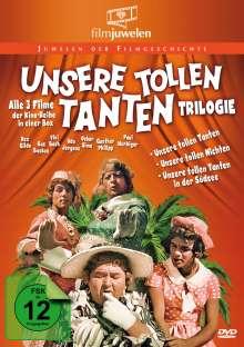 Unsere tollen Tanten Trilogie, 3 DVDs