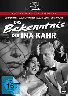 Das Bekenntnis der Ina Kahr, DVD