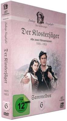 Die Ganghofer Verfilmungen: Der Klosterjäger, 2 DVDs