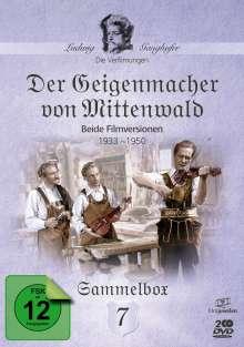Die Ganghofer Verfilmungen: Der Geigenmacher von Mittenwald, 2 DVDs
