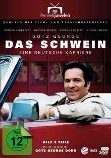 Das Schwein - Eine deutsche Karriere (Komplette Serie), 3 DVDs