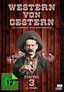 Western von Gestern Box 3, 3 DVDs