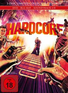 Hardcore (Blu-ray & DVD im Mediabook), Blu-ray Disc