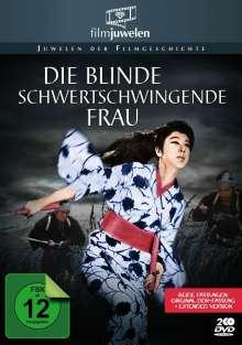 Die blinde schwertschwingende Frau, 2 DVDs