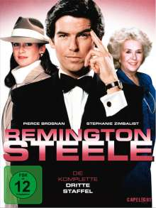 Remington Steele Season 3, 7 DVDs