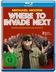 Where to invade next (Blu-ray), Blu-ray Disc