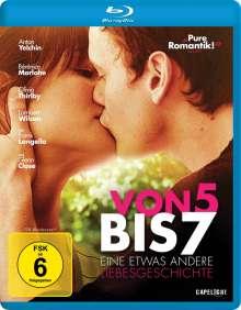 Von 5 bis 7 - Eine etwas andere Liebesgeschichte (Blu-ray), Blu-ray Disc