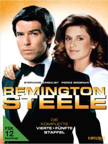 Remington Steele Season 4 & 5, 9 DVDs