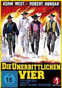 Die unerbittlichen Vier (Die vier Geier der Sierra Nevada), DVD
