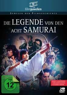 Die Legende von den acht Samurai, 2 DVDs