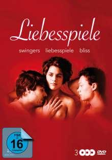 Liebesspiele: Bliss - Swingers - Liebesspiele, 3 DVDs