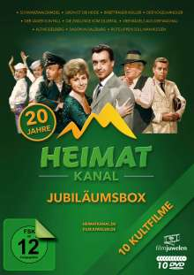 Heimatkanal - Jubiläumsedition, 10 DVDs