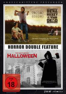 Horror Double Feature: Ben & Mickey vs. The Dead / The Night Before Halloween, 2 DVDs