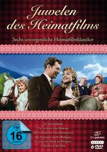 Juwelen des Heimatfilms - Sechs unvergessliche Heimatfilmklassiker, 6 DVDs