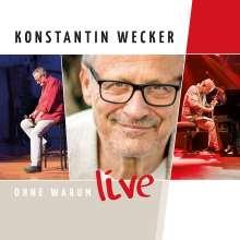 Konstantin Wecker: Ohne Warum - Live, CD