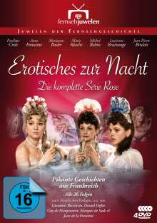 Erotisches zur Nacht - Die komplette Série Rose, 4 DVDs