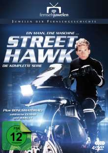 Street Hawk (Komplette Serie), 4 DVDs