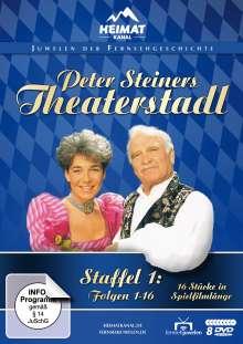 Peter Steiners Theaterstadl Staffel 1 (Folgen 1-16), 8 DVDs