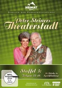 Peter Steiners Theaterstadl Staffel 3 (Folgen 33-48), 8 DVDs