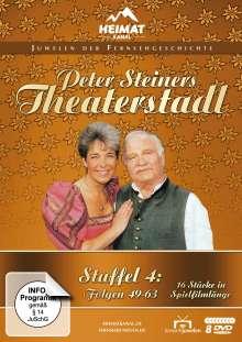 Peter Steiners Theaterstadl Staffel 4 (Folgen 49-63), 8 DVDs
