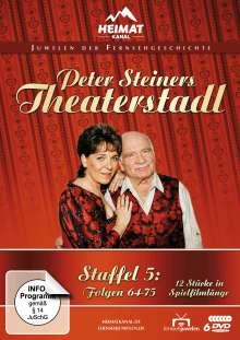 Peter Steiners Theaterstadl Staffel 5 (Folgen 64-75), 6 DVDs