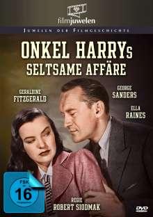 Onkel Harrys seltsame Affäre, DVD