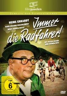 Immer die Radfahrer, DVD