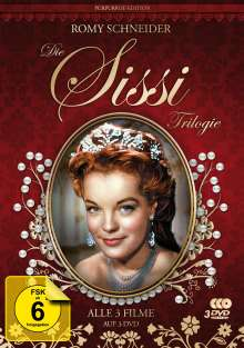 Sissi Trilogie (Purpurrot Edition), 3 DVDs