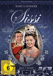 Sissi Trilogie (Juwelen Edition) (Blu-ray & DVD), 3 Blu-ray Discs