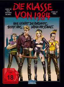 Die Klasse von 1984 (Blu-ray im Mediabook), Blu-ray Disc