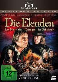 Die Elenden - Gefangene des Schicksals, 2 DVDs