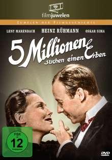 Fünf Millionen suchen einen Erben, DVD