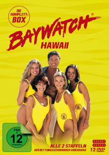 Baywatch Hawaii (Komplettbox Staffel 1 & 2), 12 DVDs
