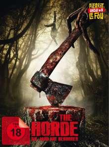 The Horde (Blu-ray & DVD im Mediabook), 1 Blu-ray Disc und 1 DVD