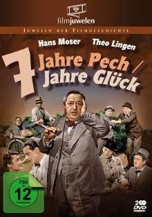 Sieben Jahre Pech / Sieben Jahre Glück, 2 DVDs