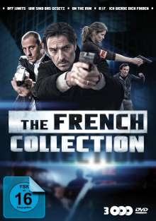 The French Collection: Off Limits / On the Run / R.I.F., 3 DVDs