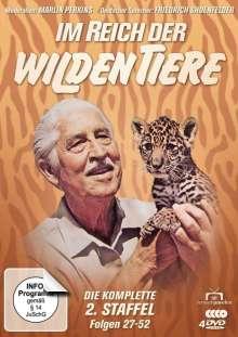 Im Reich der wilden Tiere Staffel 2, 4 DVDs