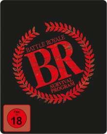 Battle Royale (Blu-ray & DVD im Steelbook), 1 Blu-ray Disc und 3 DVDs