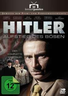 Hitler - Der Aufstieg des Bösen (Kompletter Zweiteiler), 2 DVDs