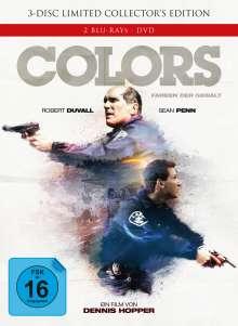 Colors - Farben der Gewalt (Blu-ray & DVD im Mediabook), 2 Blu-ray Discs