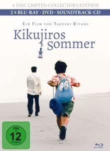 Kikujiros Sommer (Blu-ray & DVD im Mediabook), 4 Blu-ray Discs