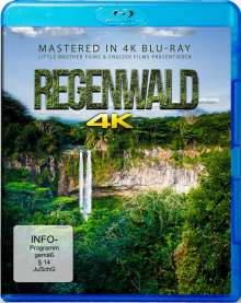 Regenwald (Blu-ray Mastered in 4K), Blu-ray Disc