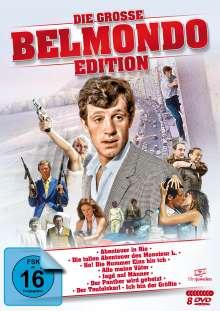 Die große Belmondo-Edition, 8 DVDs
