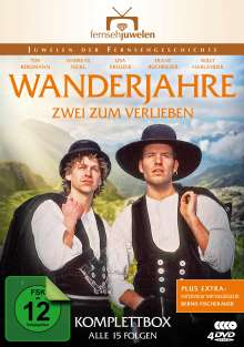 Wanderjahre - Zwei zum Verlieben, 4 DVDs