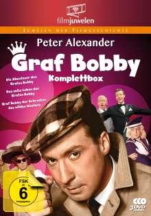 Graf Bobby (Komplette Filmtrilogie), 3 DVDs